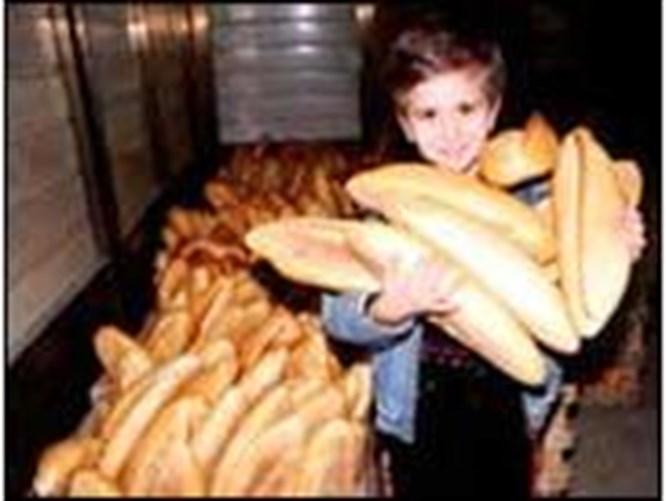 Uzay ekmeği Antalya'ya indi
